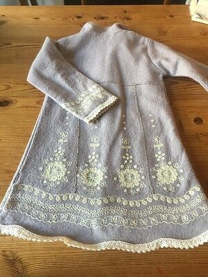 Gorgeous Monsoon Girls Embroidered Coat 4-6 Years