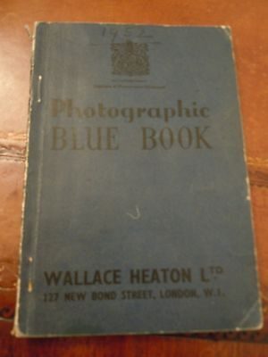 Photographic Blue Book 1952 Wallace Heaton Ltd