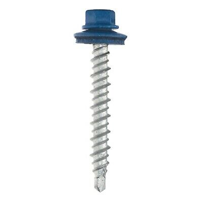 500pcs #10x1-1/2in or #10x2in Metal Siding/Roofing Screws 17 Colors Available