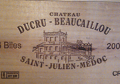 1bt Chateau Ducru Beaucaillou 2008 - Saint Julien