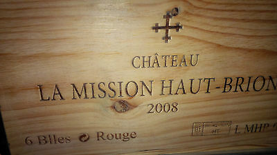 1bt Chateau La Mission Haut Brion 2008 - Pessac Leognan