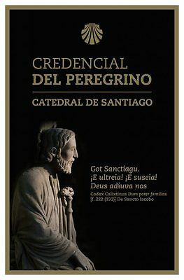 Camino de Santiago Way of St. James Official Pilgrim Passport / Credential