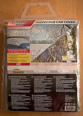 Ultimate Speed Protective Car Cover Small Medium S/M NEW