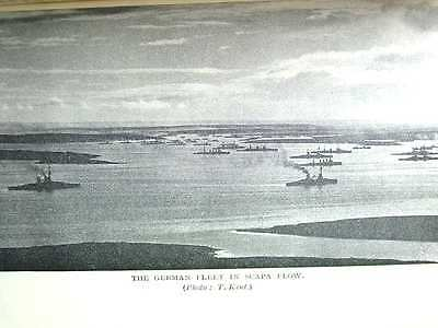 Orkney History Of The Island And Scuttling Of German Ships At Scapa Flow 1930S
