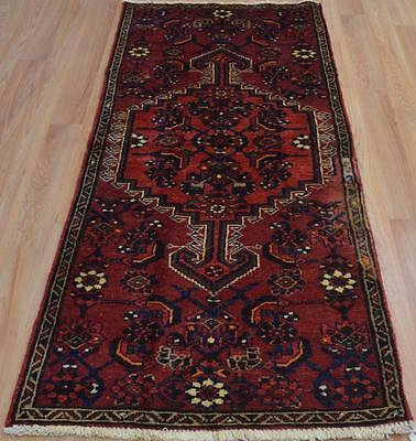 2'7 x 6'1 Authentic Semi Antique Persian Tribal Oriental Handmade Wool Area Rug