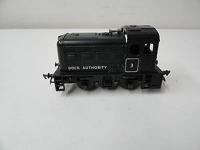 Triang Hornby R253 0-4-0 Black Dock Shunter Loco Cn Color