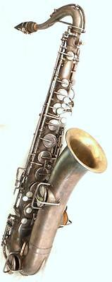 "Vintage 1920's ""The Martin"" Handcraft  C-Melody Saxophone Satin & Silver Finish"