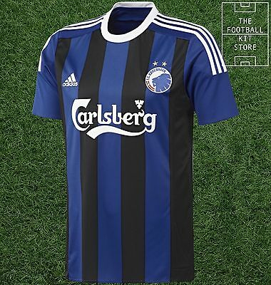 FC Copenhagen Away Shirt -  Official adidas Rare Football Shirt -Mens- All Sizes