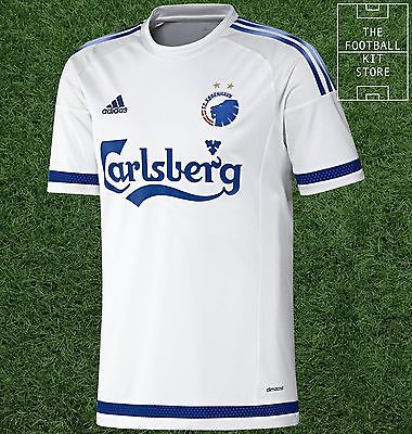 FC Copenhagen Home Shirt -  Official adidas Rare Football Shirt -Mens- All Sizes