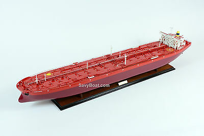 "ULCC Jahre Viking Tanker 45"" Handmade Wooden Ship Model RC Convertible"