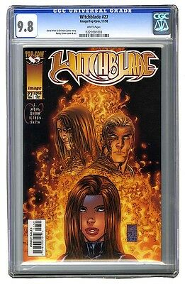 Witchblade #27, 9.8 NM/M, CGC, Top Cow Productions and Image