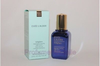 ESTEE LAUDER ENLIGHTEN DARK SPOT CORRECTING NIGHT SERUM 75ML anti-macchia notte