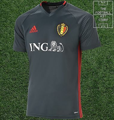 Belgium Training Shirt - Official Adidas Football Training Top - All Sizes