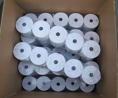 "3-1/8"" x 200 ft Thermal Paper Rolls 50 rolls / case for POS, MEV Printer"