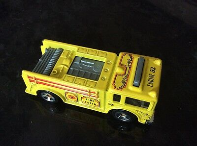 Hot Wheels Fire Eater In Yellow