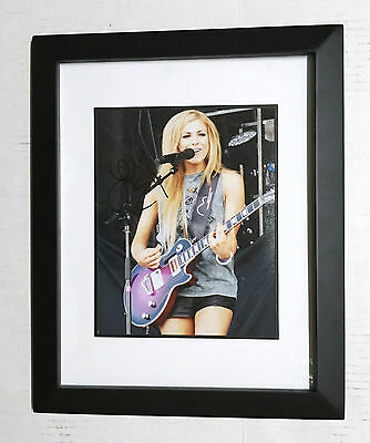 By The Way LINDSAY ELL Signed Autographed FRAMED Photo COA! HOT! Trippin On Us!