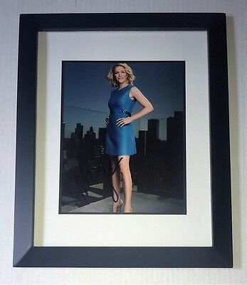 Fox News MEGYN KELLY Signed Autographed FRAMED 8x10 Photo COA! Megan HOT SEXY