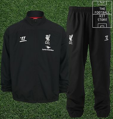Liverpool Presentation Suit; Jacket & Track Pants - Boys Tracksuit - All Sizes