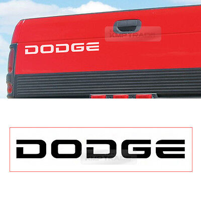 Dodge Logo Tailgate Graphics Decals Sticker 1Pcs For DODGE 1994-2000 Ram Truck