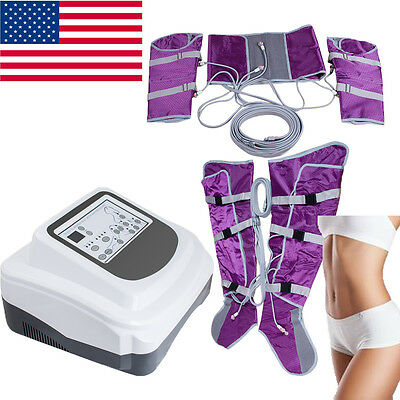 Air Pressure Far Infrared Lymph Drainage Toxin Weight Loss Machine Brand New USA