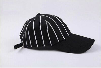 2017 New Chef Works Cool Vent Collection Black Stripe Baseball Cap Hat