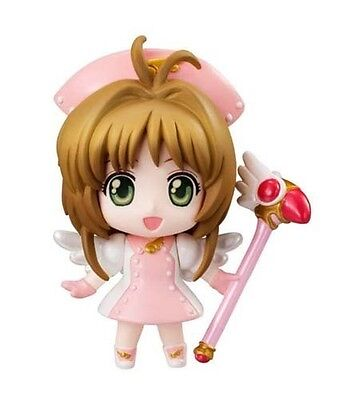 Card Captor Sakura 2'' Nurse Costume Petit Chara Land Vol. 2 Trading Figure