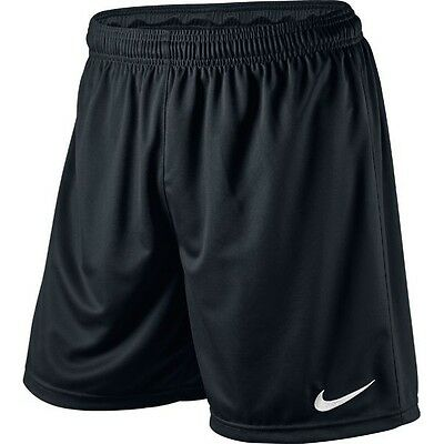 SHORTS FOOTBALL/ SOCCER NIKE PARK BLACK ADULT SIZE XL (97-109cm Waist)