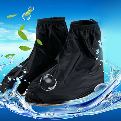 Reusable Rain Shoe Covers Waterproof shoes Overshoes Boot Gear Anti-slip  AU