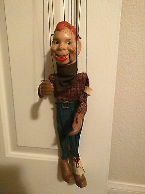 PETER PUPPET PLAYTHINGS HOWDY DOODY MARIONETTE DOLL CIRCA 1950's
