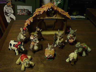 Charming Tails Nativity Set...11 Pieces