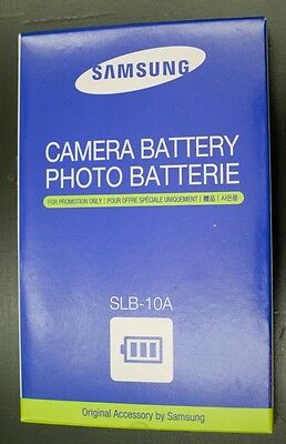 Authentic Samsung SLB-10A battery