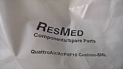 New Factory Sealed SMALL Resmed Quattro Air / F10 Replacement Cushion P#62737