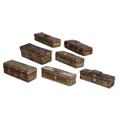 Silkroute NB512 Assorted Antique Iron Box