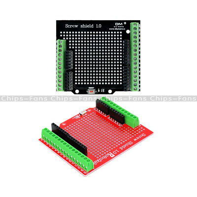 Blue/Red Screw Shield Assembled Terminal Expansion Board Proto Type for Arduino