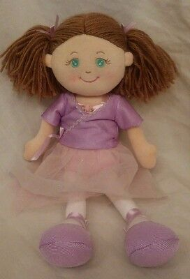 Russ Berrie & Co ARIANA Ballerina Cloth Plush Doll