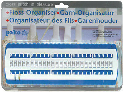 Embroidery Thread/Floss Organiser Pako with 10 Blank Cards