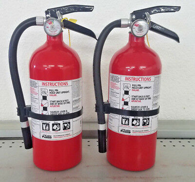 Fire Extinguisher ABC Dry Chemical  - Kidde - Lot of 2 - Disposable