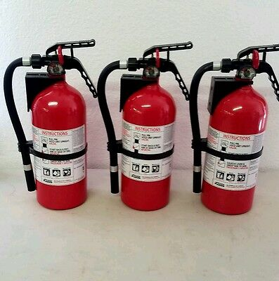 Fire Extinguisher ABC Dry Chemical  - Kidde - Lot of 3 - Disposable