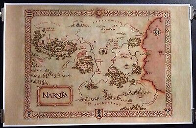 11 X 17 Chronicles Of NARNIA Poster Map Gloss C.S. Lewis