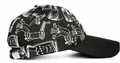 Chef Works Cool Vent Collection Black Baseball Cap Hat Free Shipping