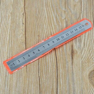 6inch 150mm Double Side Stainless Steel Measuring Ruler