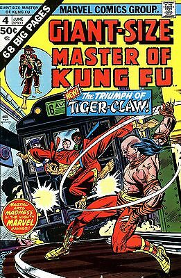 Classic Vintage Master of Kung Comics Plus Extras On DVD