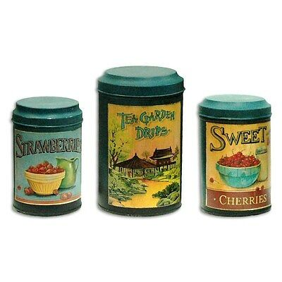 Silkroute NA1213 Tea Garden Canisters