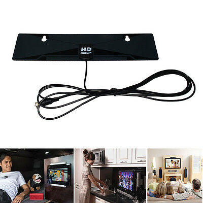 Amplified Active Indoor Hd Digital Tv Antenna Aerial Gain Freeview Hdtv Dab