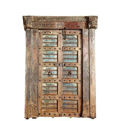 Silkroute DO327 Wooden Door with Frame