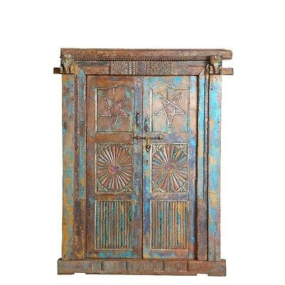 Silkroute DO344 Wooden Door with Frame