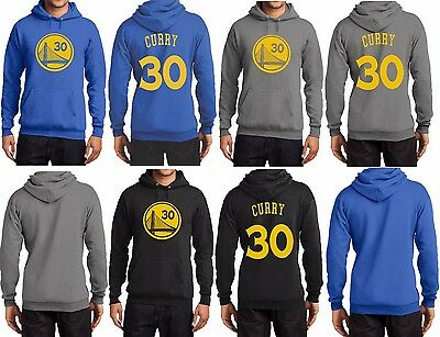 New Stephen Curry 30 Golden State Warriors MVP Jersey Hoodie Hooded Sweatshirt