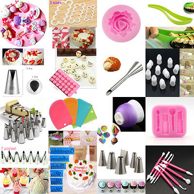 Russian Cake Icing Piping Nozzles Tips Converter Mould Sugarcraft tool au