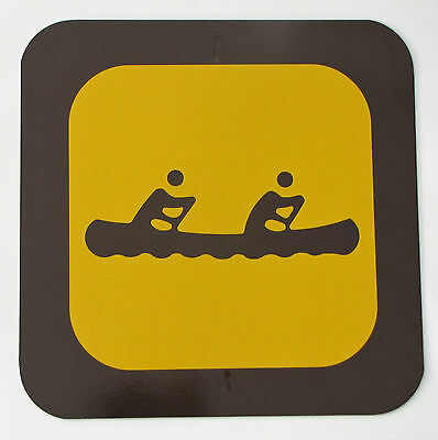 State / Provincial Park Sign - CANOE - Reflective Heavy Gauge Steel Road Sign