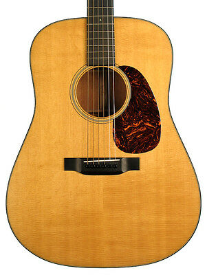 Martin D-18 Acoustic Guitar, Natural (Pre-Owned)